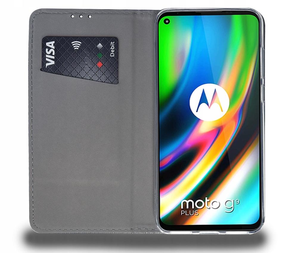 Etui do Motorola Moto G9 Plus Case Magnet + Szkło Kod producenta F28B