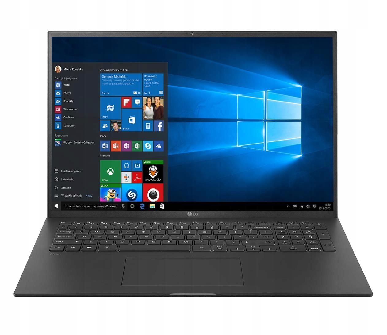 Laptop Lg Gram Gram 17Z90P Intel Core i7-1165G7 16