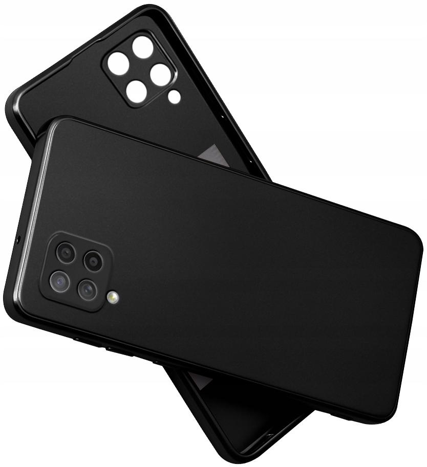 Etui SILIKON do Samsung Galaxy A42 5G CASE + SZKŁO
