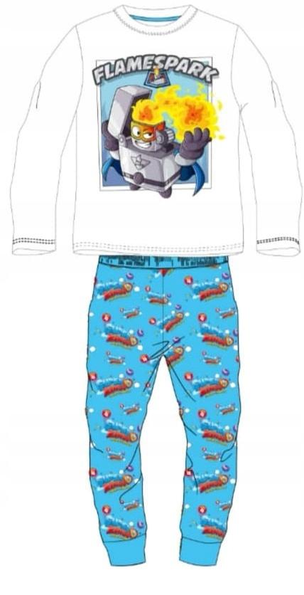 SUPER ZINGS pyžamo !!! 100% BAVLNA RUŽA. 122 BIELA