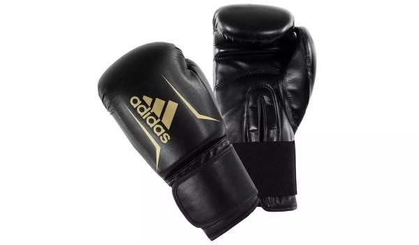 Купить Боксерские перчатки Adidas Speed 50 12oz - черные на Otpravka - цены и фото - доставка из Польши и стран Европы в Украину.