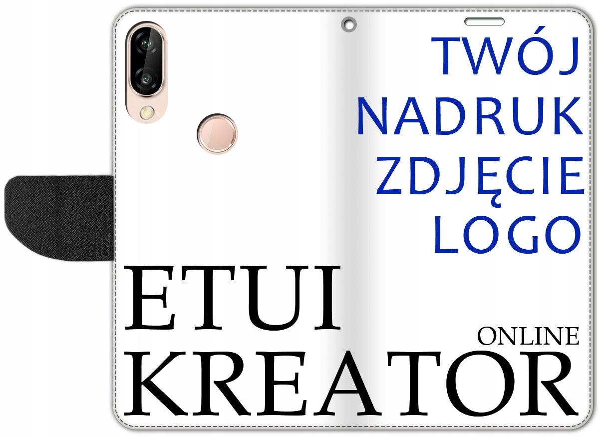 Etui Portfel Kreator Nadruk do Huawei P Smart 2019