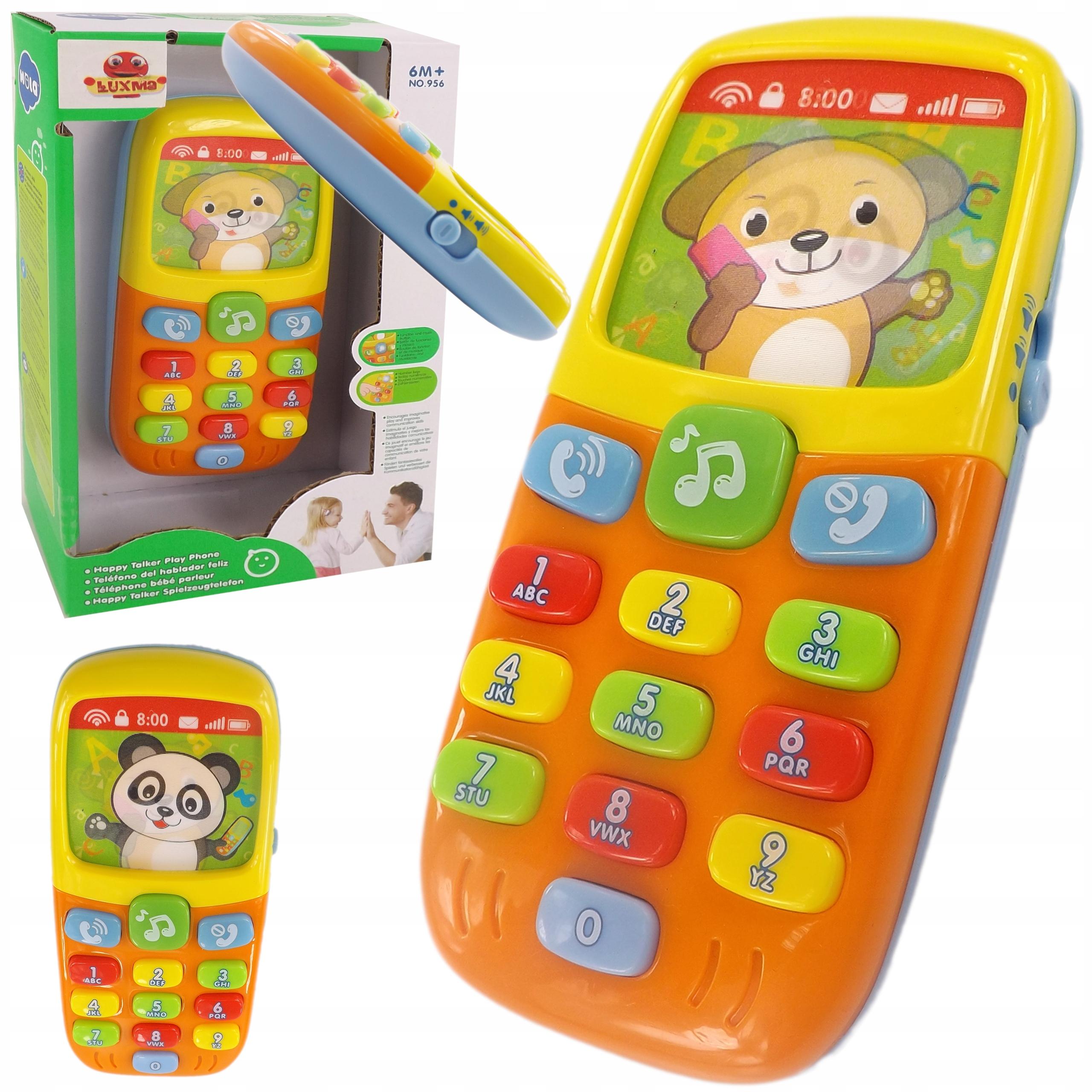 Telefon interaktywny 3D światła i dźwięki 956