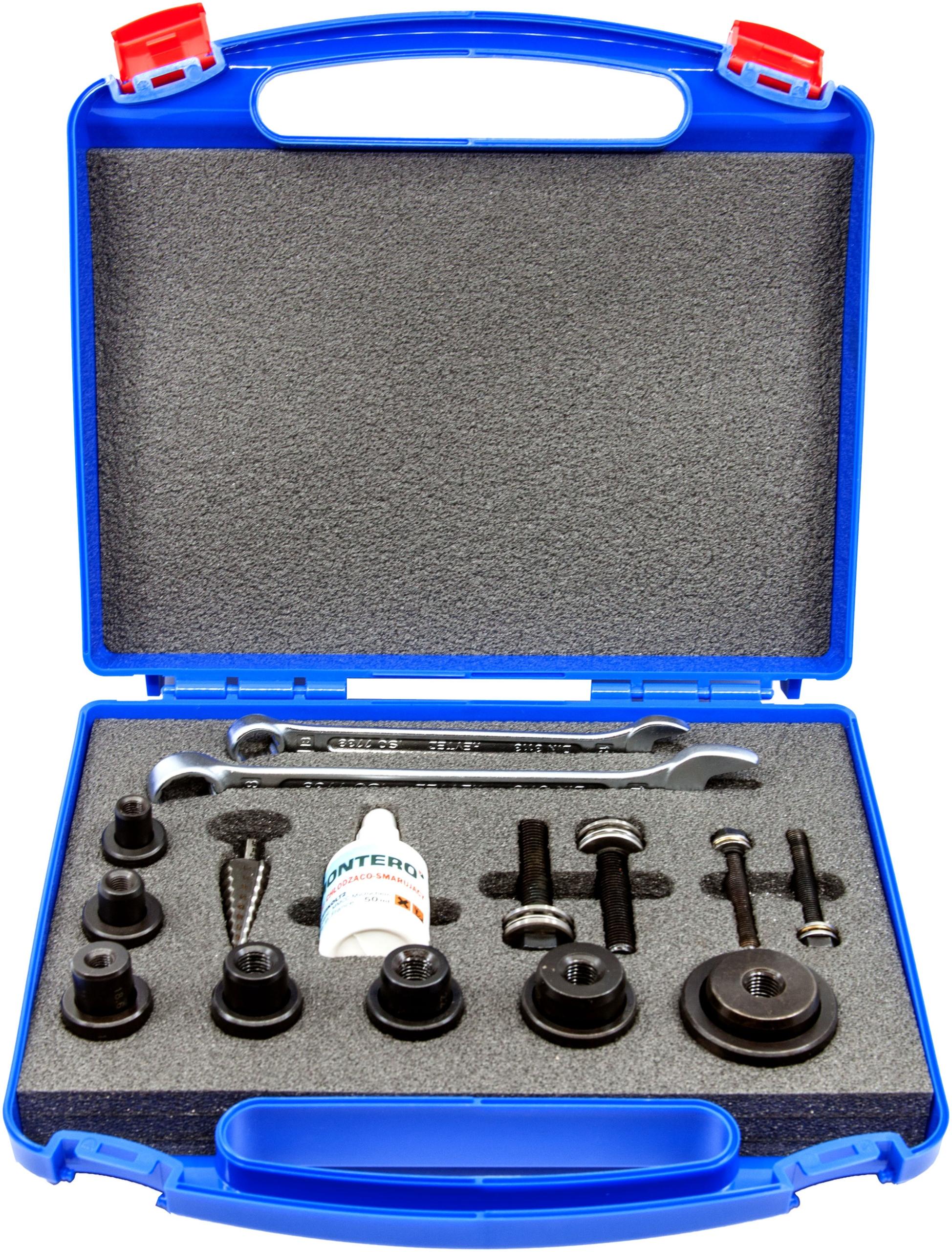 Wykrojniki śrubowe do blach 12.7 - 37.0 mm Montero