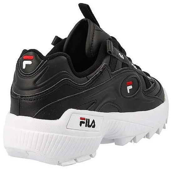 buty Fila D-Formation - Black/White/Fila Red