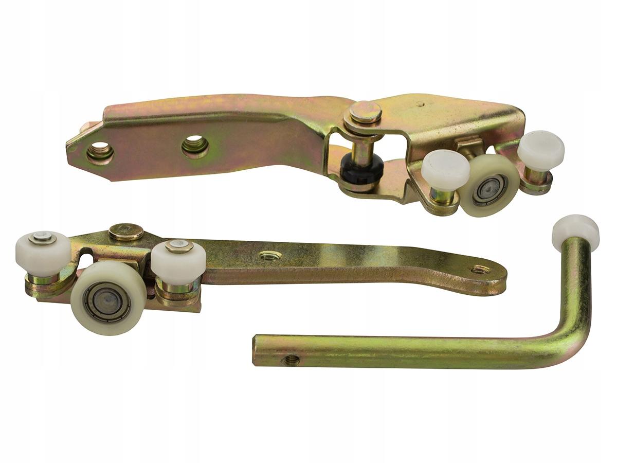 коляска ролики двери боковых 3 шт компл vw t4 90-04