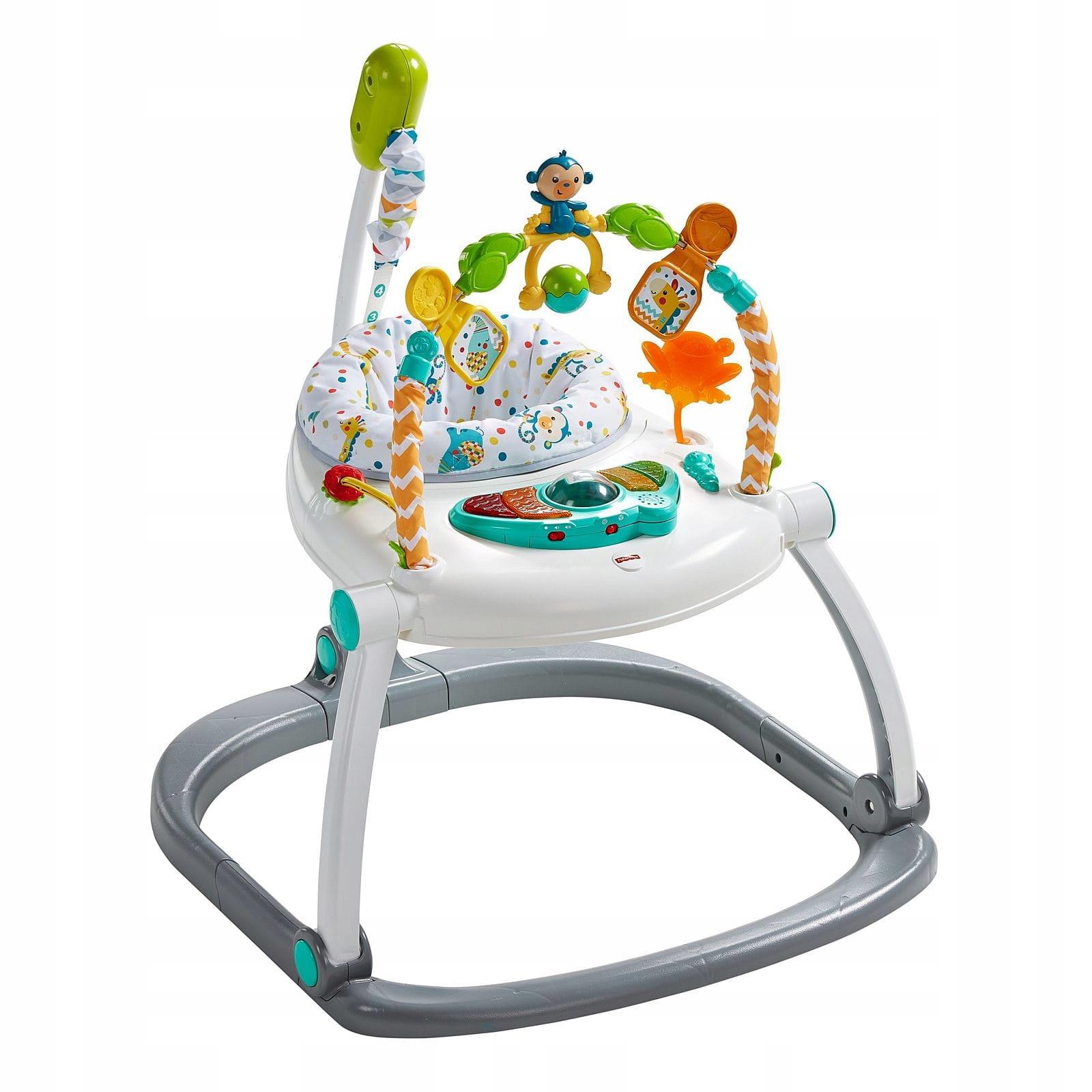 FISHER-PRICE Interaktívny jumper pre deti.