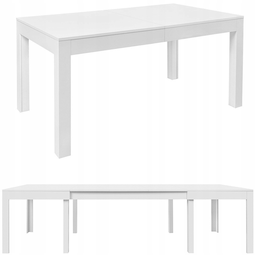 Stół ROZKŁADANY 160 - 300 BLACK RED WHITE Filo 2