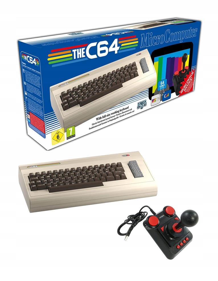 Купить THE C64 MICRO COMPUTER / C64 MAXI COMMODORE 64 GRY на Otpravka - цены и фото - доставка из Польши и стран Европы в Украину.