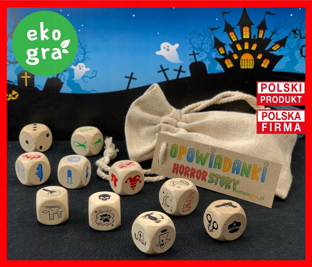 Eko gra dla dzieci OPOWIADANKI horror story Marka inna