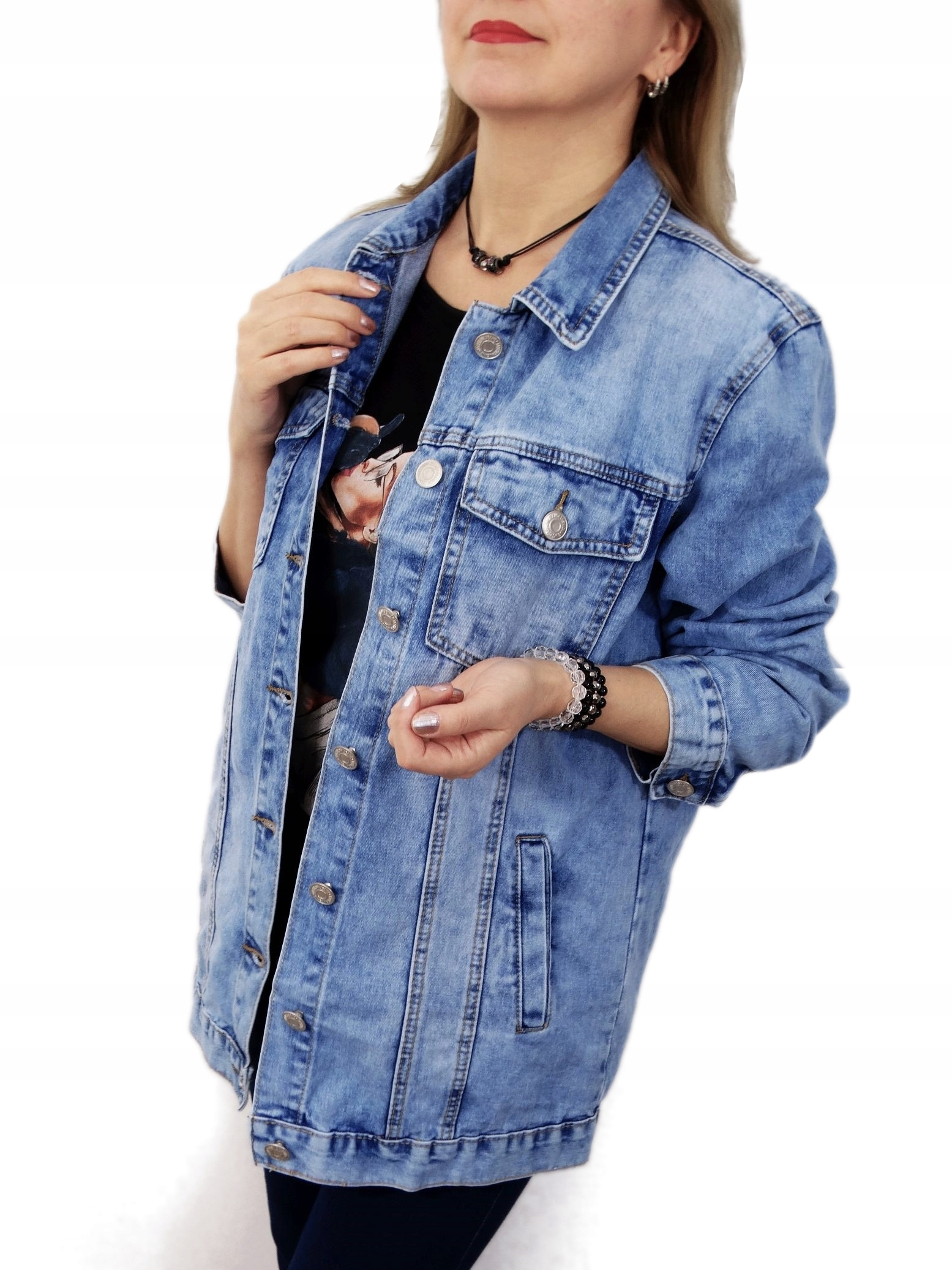 kurtka jeansowa dluga damska calvin klein