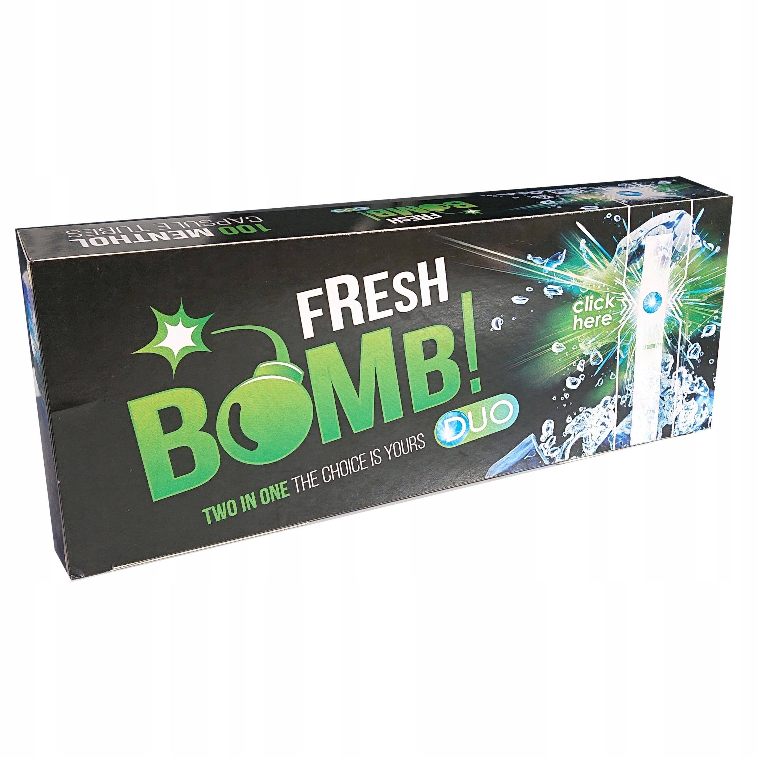 Катушки Fresh bomb Ментол мята клики клик