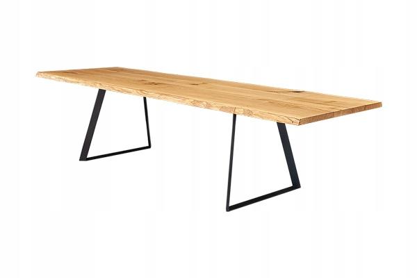 Rozťahovací dubový stôl DELTA 120/220 LOFT RETRO