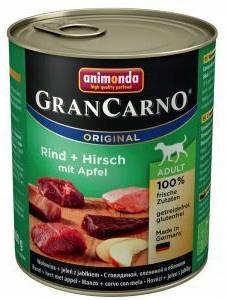 ANIMONDA GranCarno Adult Dog Jeleň Apple 6x800g