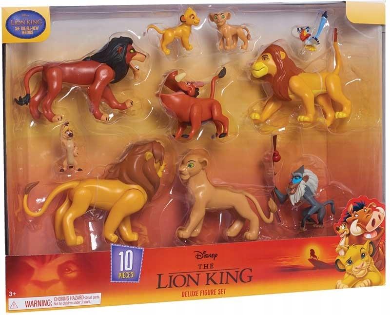 SÚBOR LION KING Z 10 ORIGINÁLNYCH ÚDAJOV LION KING