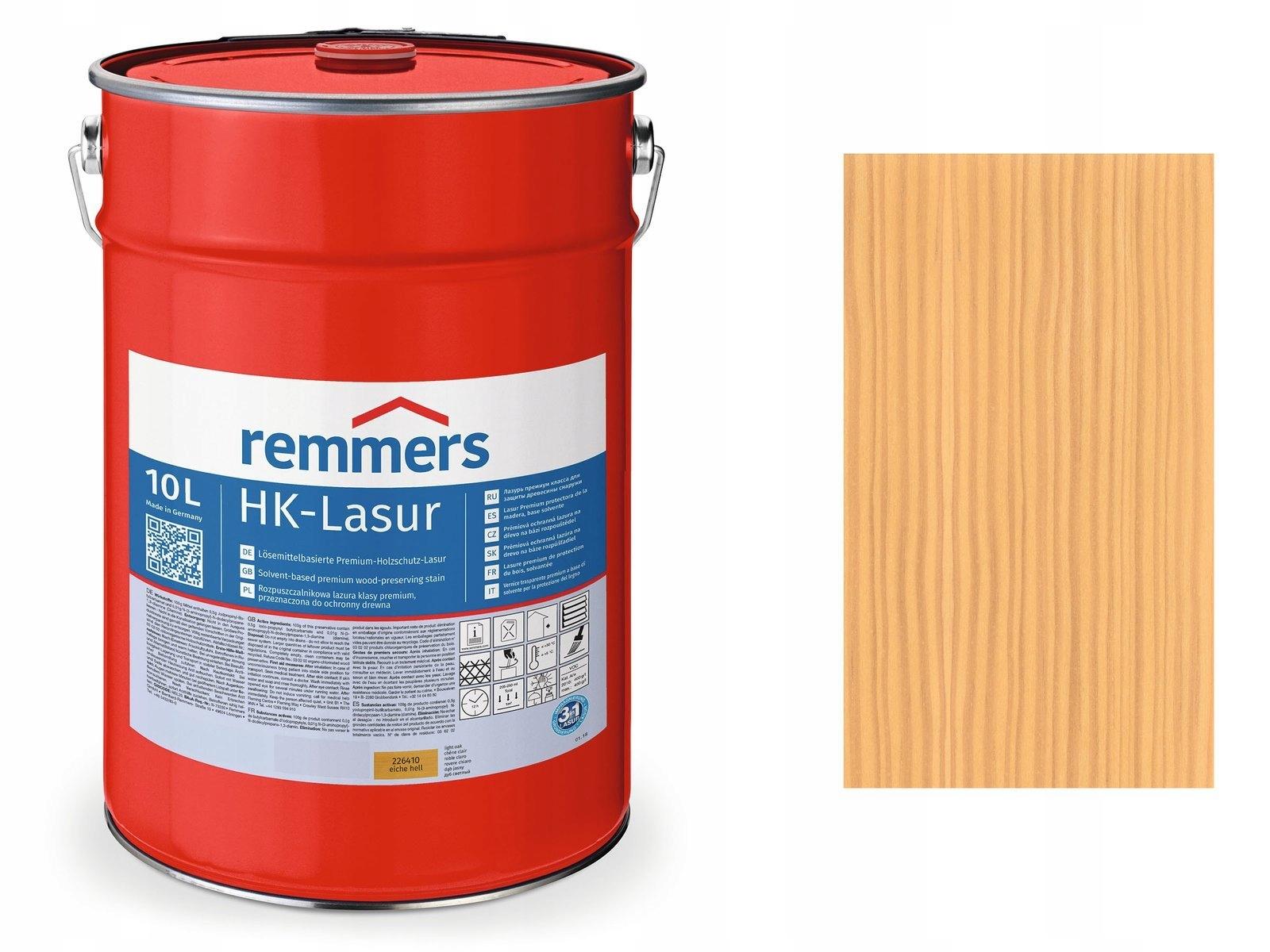 Remmers HK-Lasur-пропитка для дерева 10Л БЕСЦВЕТНЫЙ