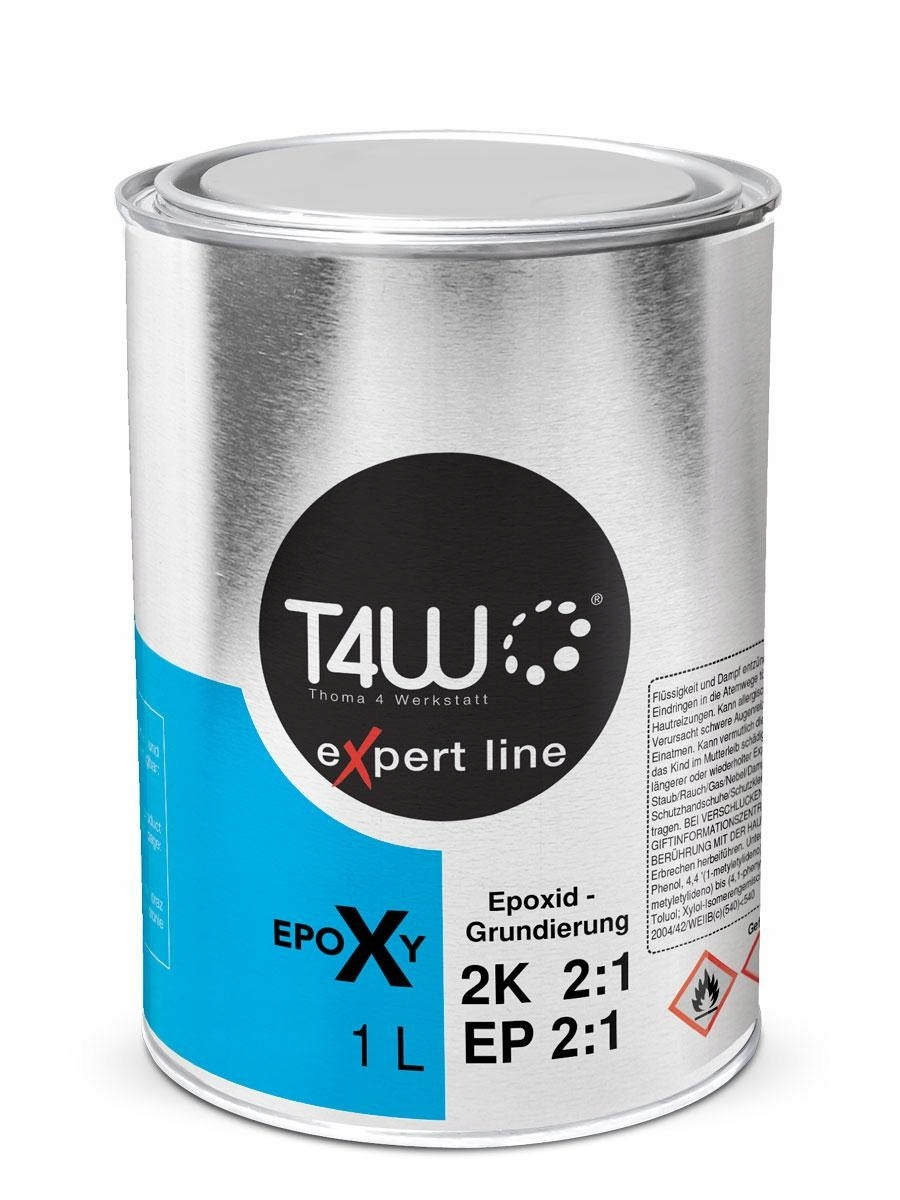 Купить T4W EP2:1 антикоррозионный эпоксидный Грунт 1.5 Л на Otpravka - цены и фото - доставка из Польши и стран Европы в Украину.