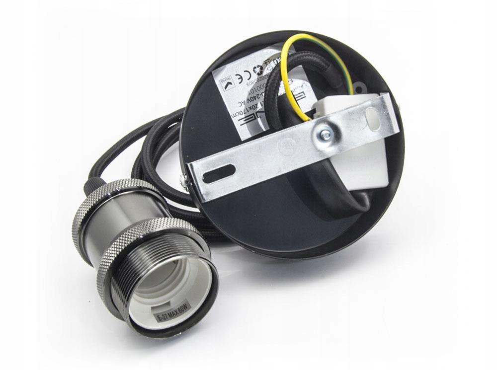 LAMPA SUFITOWA WISZĄCA DIAMA ŻYRADNOL LED LOFT BC1 Zasilanie sieciowe