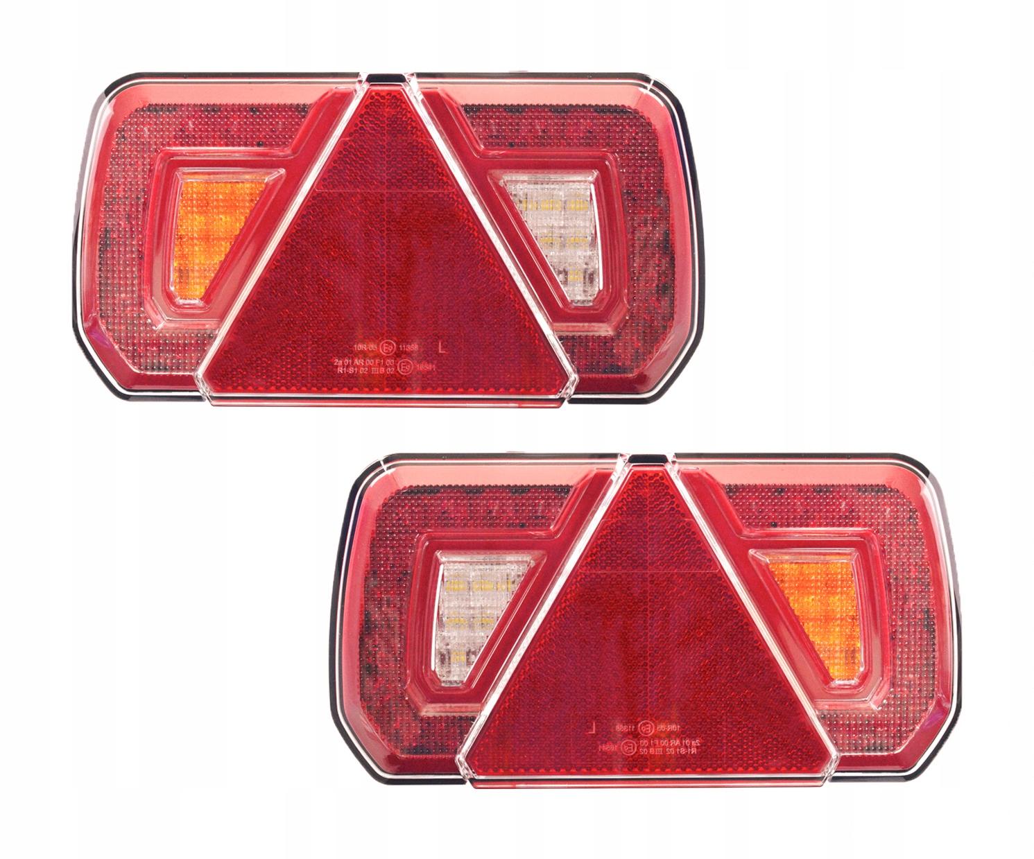 лампа мост led фонарь треугольник прицеп пара