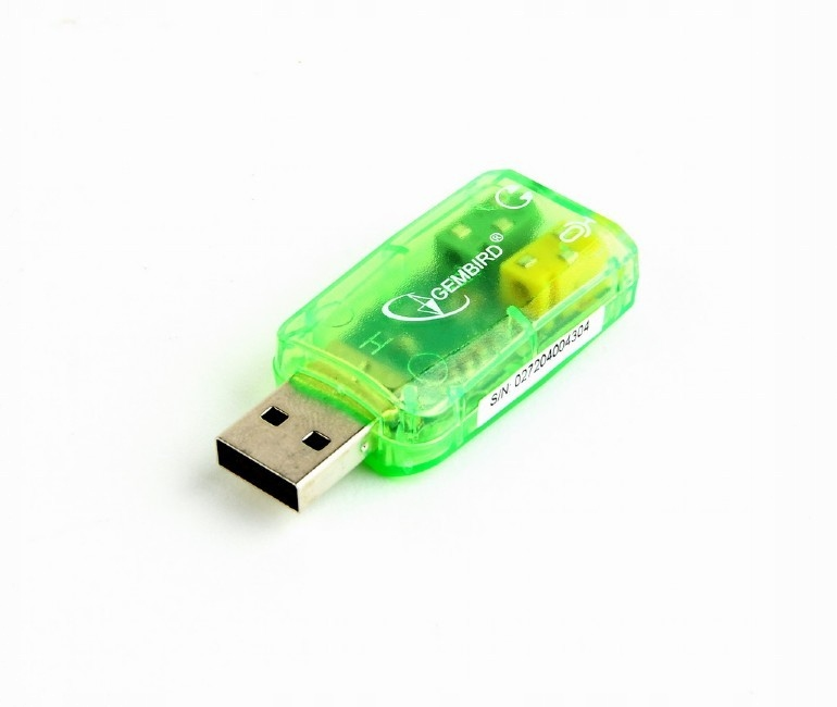 Купить Звуковая карта GEMBIRD Virtus SC-USB-01 на Otpravka - цены и фото - доставка из Польши и стран Европы в Украину.