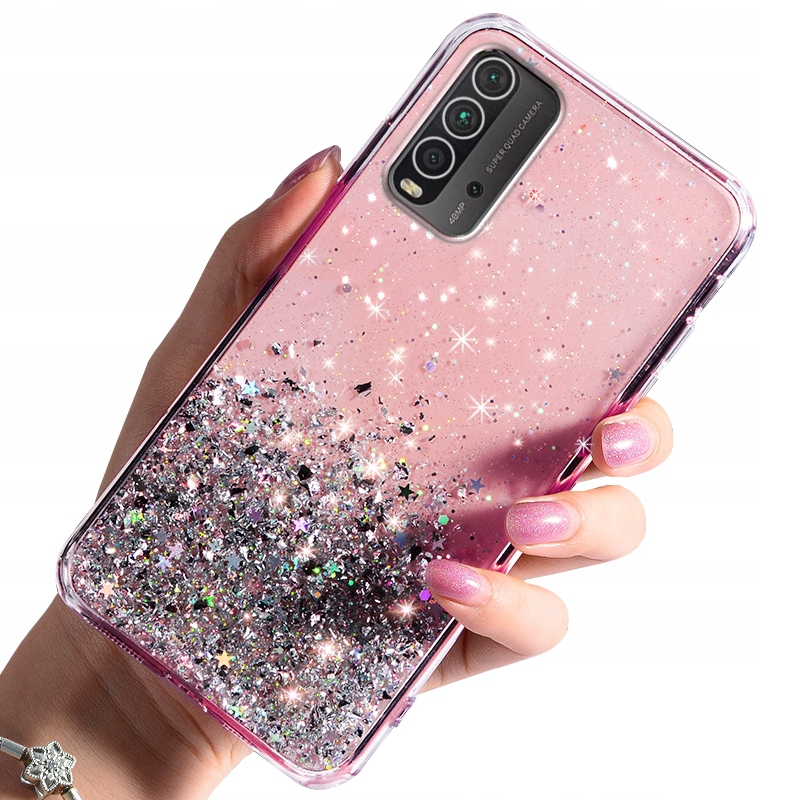 Etui BROKAT do Xiaomi Redmi 9T CASE + SZKŁO 9H