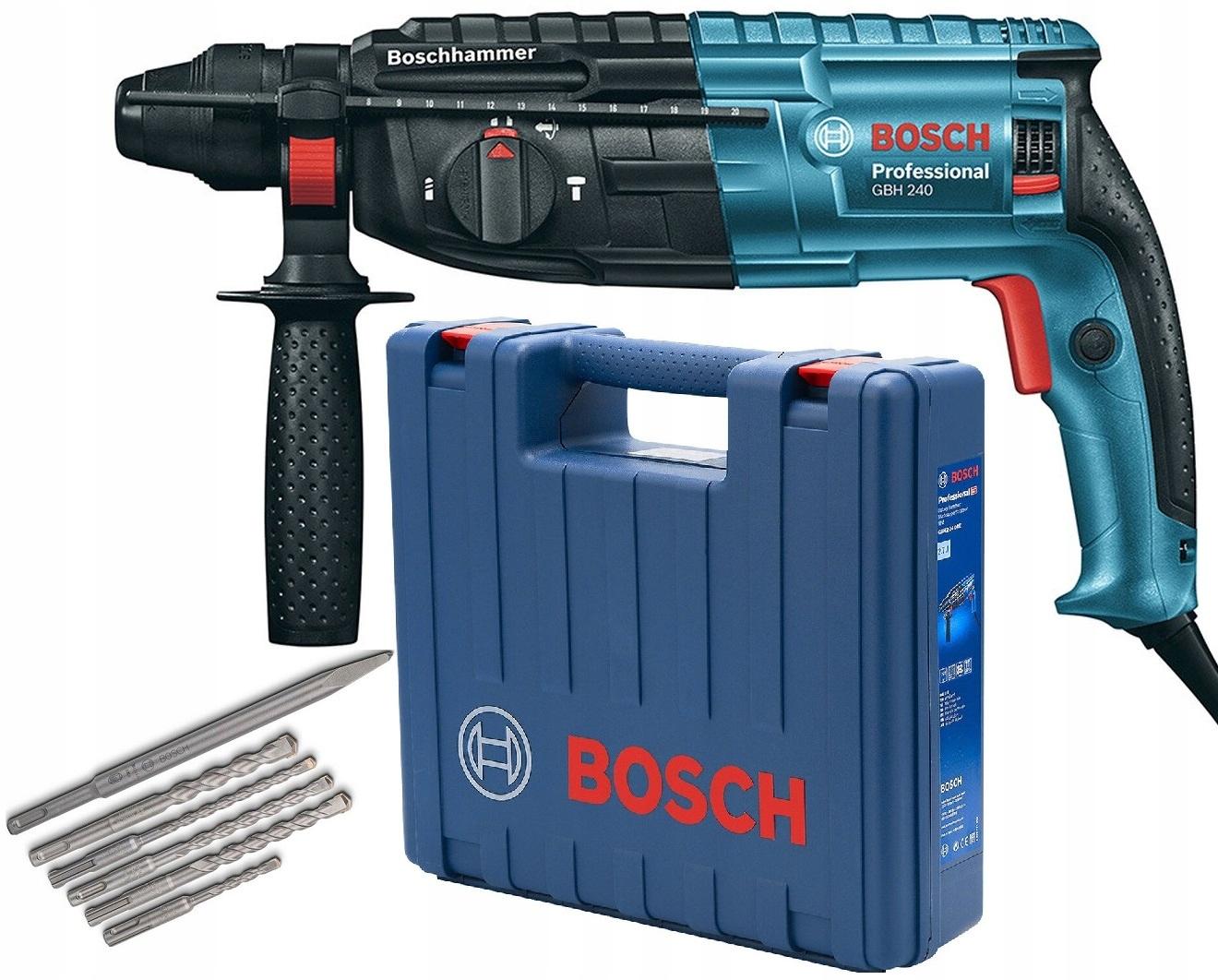 Перфоратор BOSCH Professional GBH 240 790W SDS