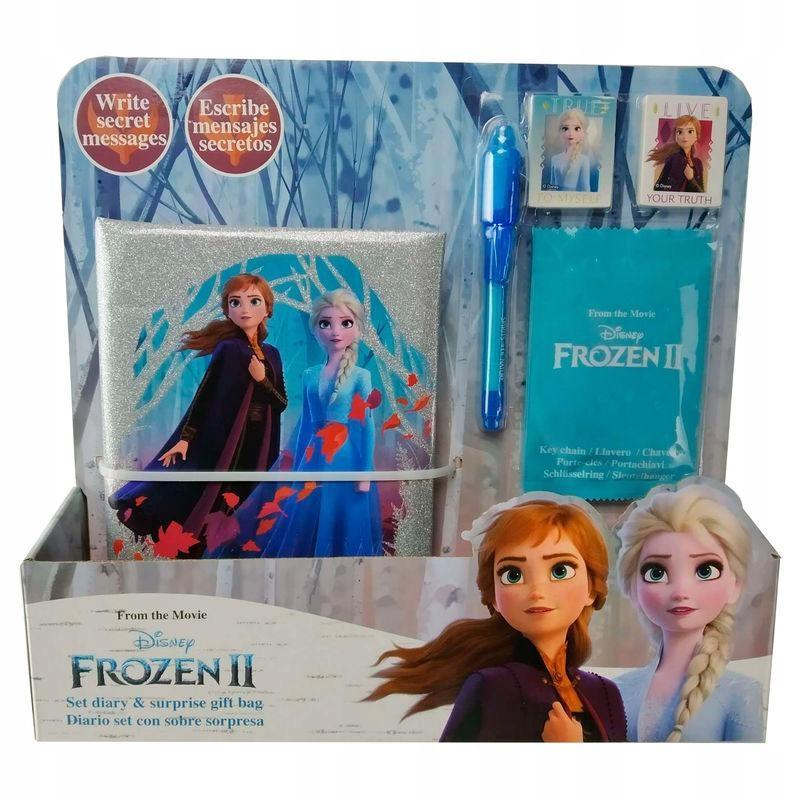 Frozen II tajný denník UVB prekvapenie 863