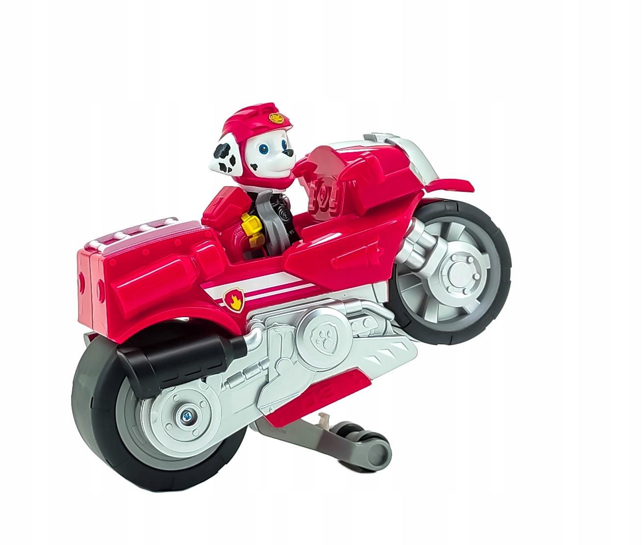 PSI PATROL MARSHALL FIGURKA I MOTOCYKL MOTO PUPS Kod producenta 6060225