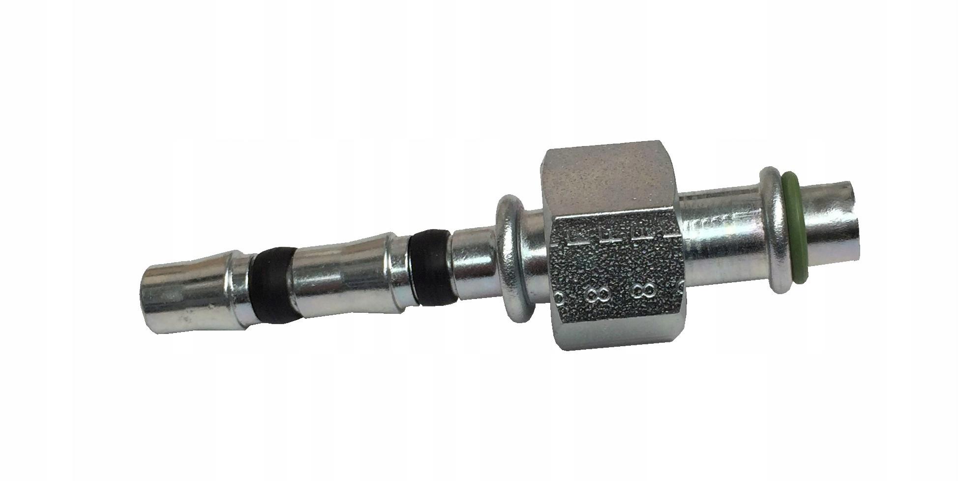 наконечник кондиционирования воздуха на шланг 8mm гайка 19