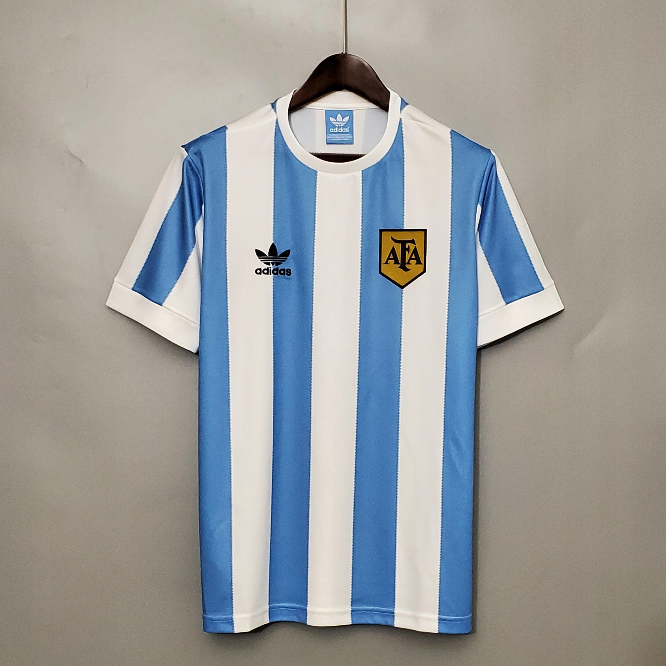 1978 Argentínske retro futbalové dresy