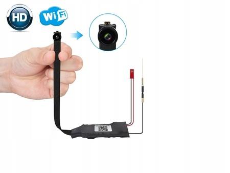 Ukryta MINI kamera szpiegowska WiFi dzień/noc IR Kod producenta 2020