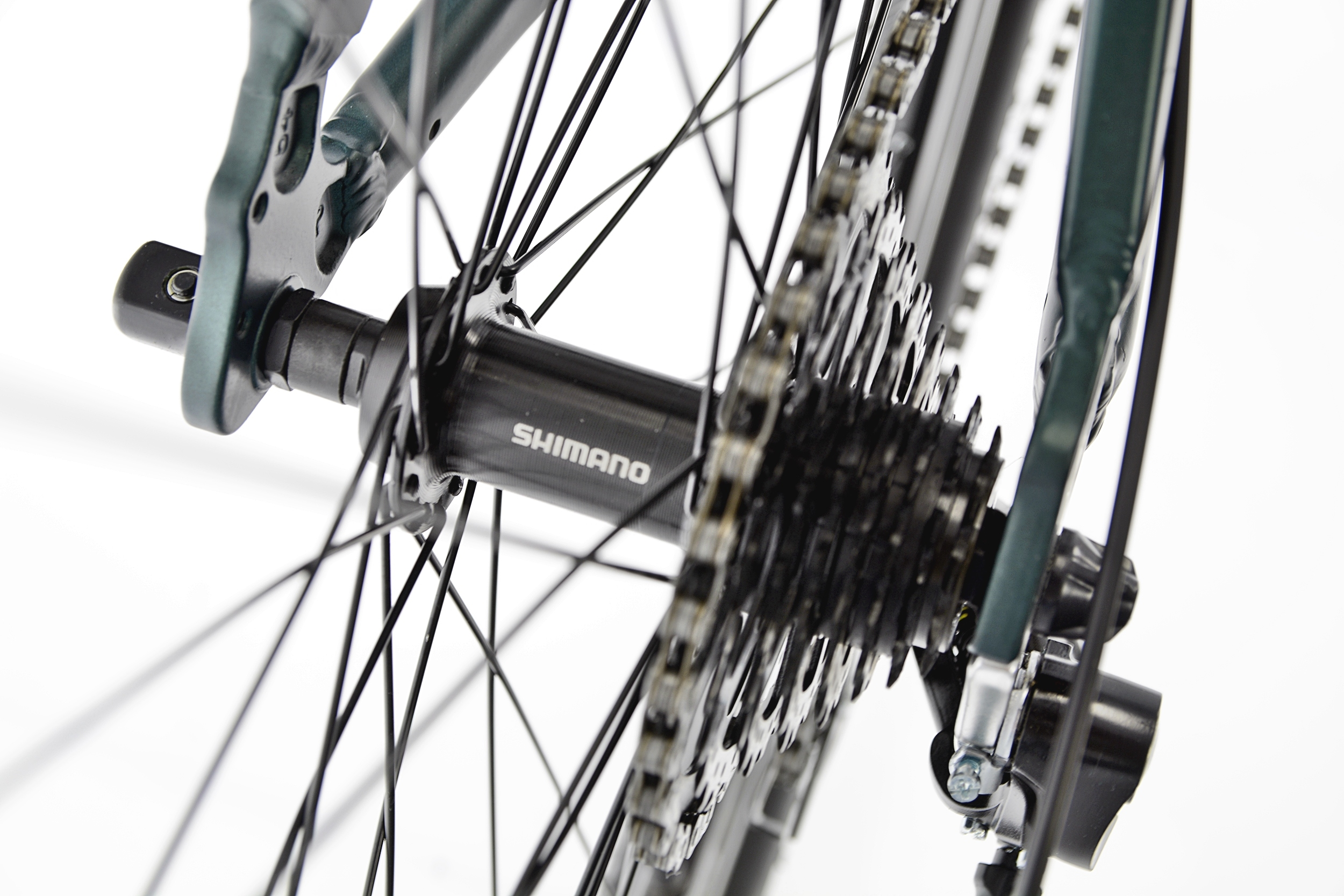 KANDS THE ONE rower mtb 29 VB altus 19 zieleń 2021 Materiał ramy aluminium
