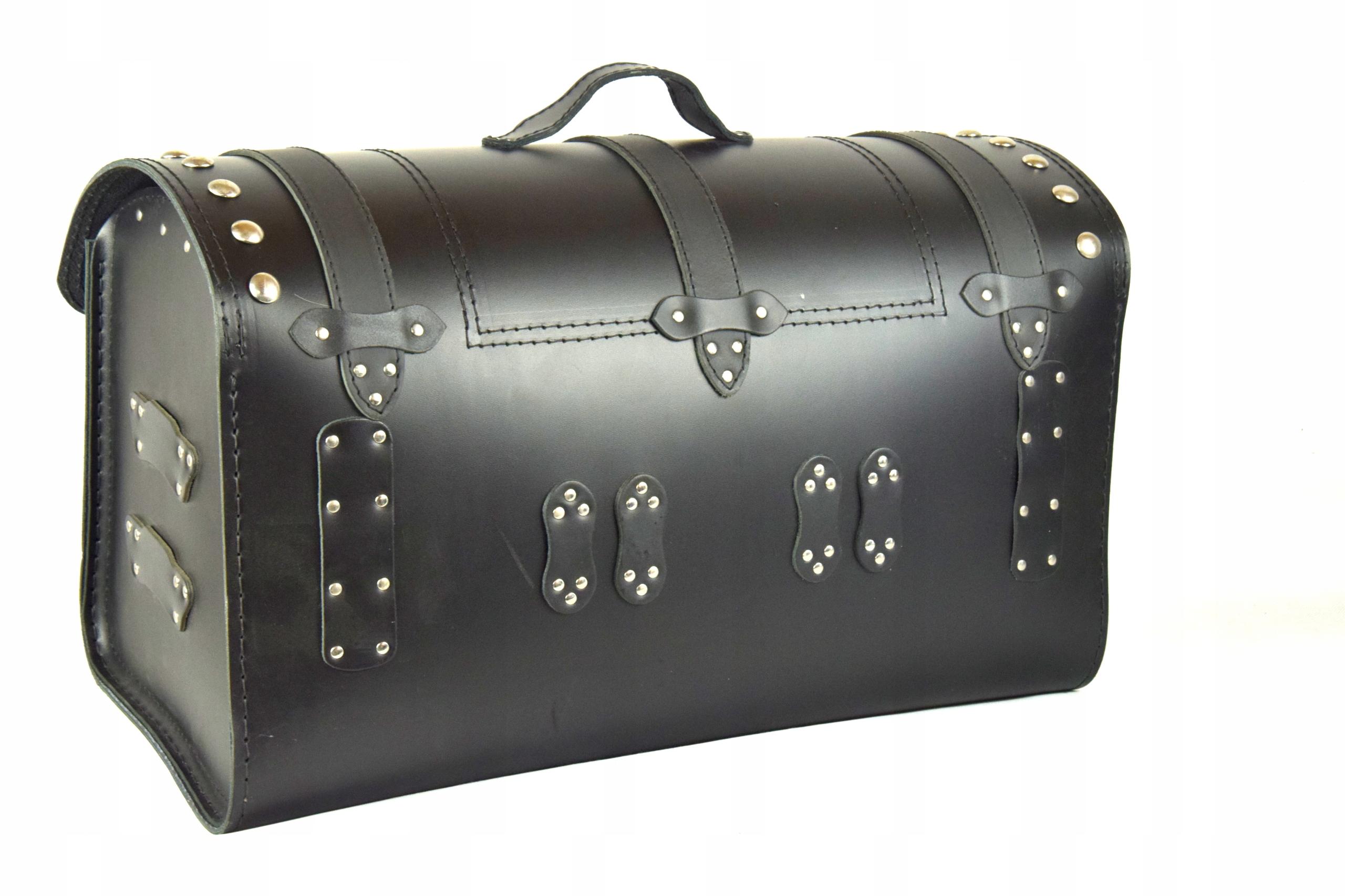 Kufer skórzany kufer tylni motocyklowy K181 Producent Inny