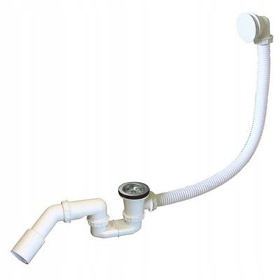 Сифон для ванны металлический сетчатый фильтр Rawiplast