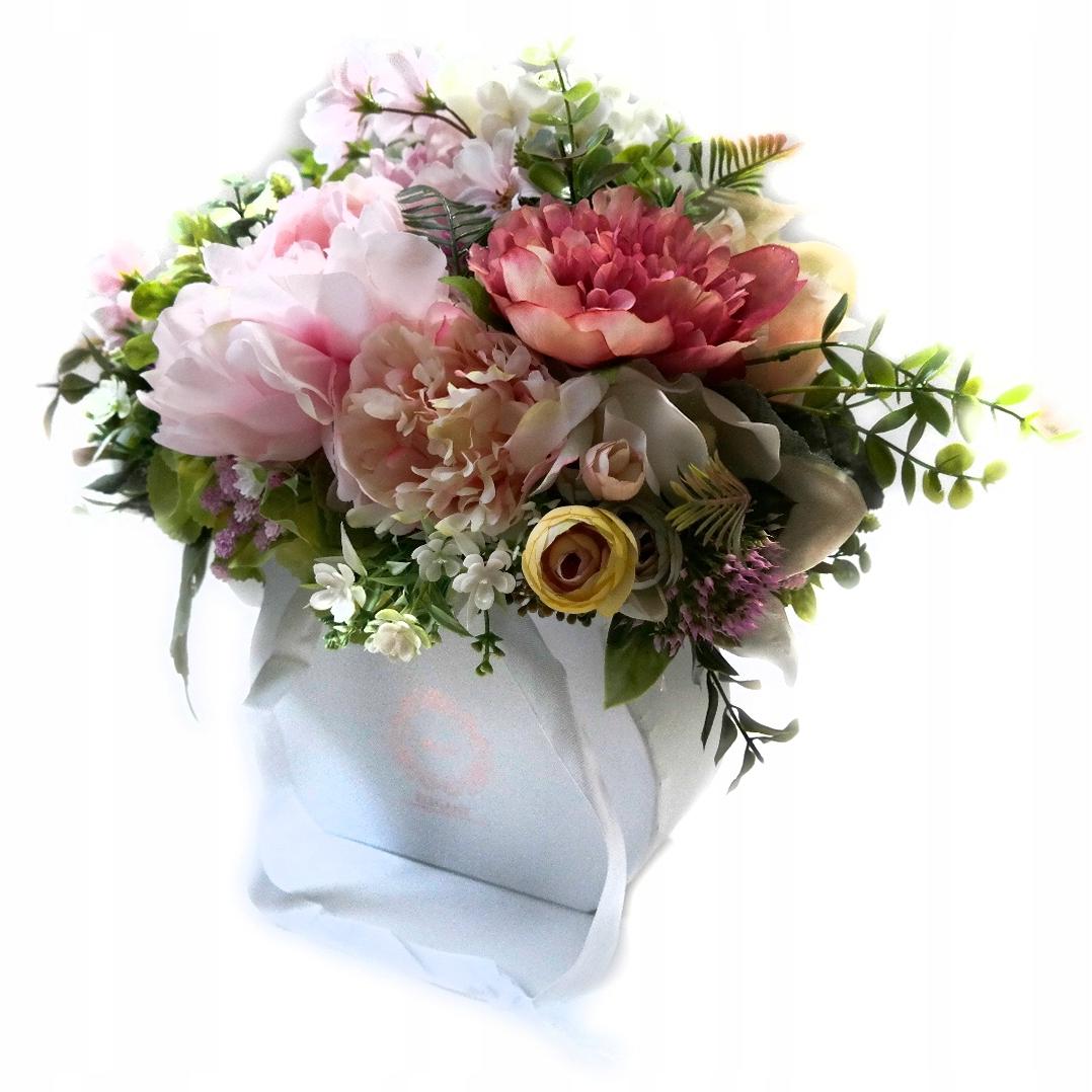 коробка для подарка цветочная композиция причастие