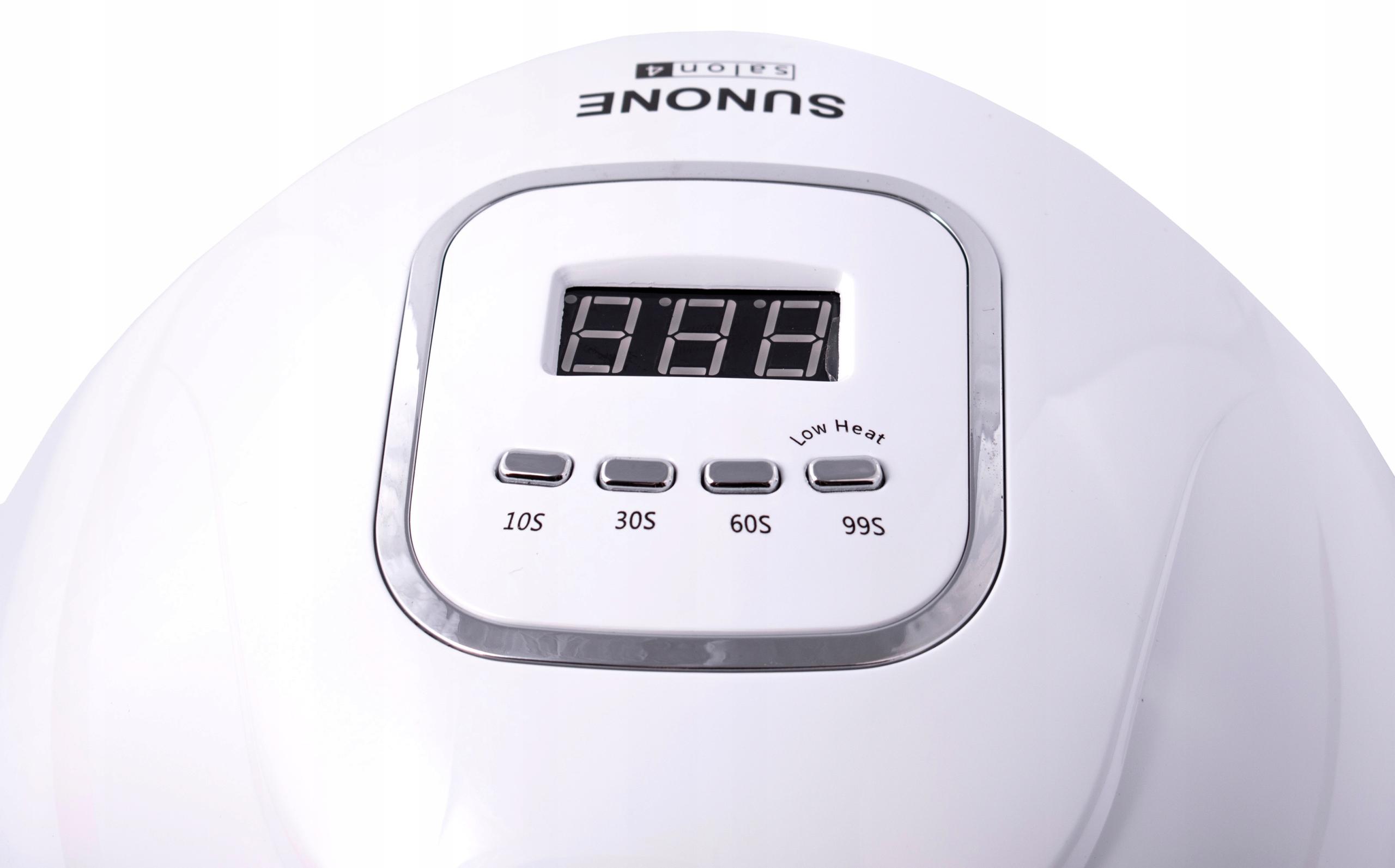 SUNONE salon4 Lampa UV LED 90W Hybrydy Żele Model salon4