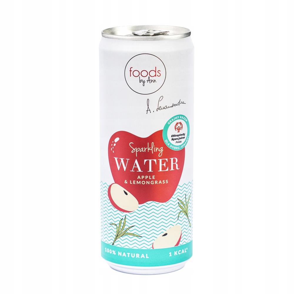 Газированная вода Apple Trawa Lemon Foods by Ann