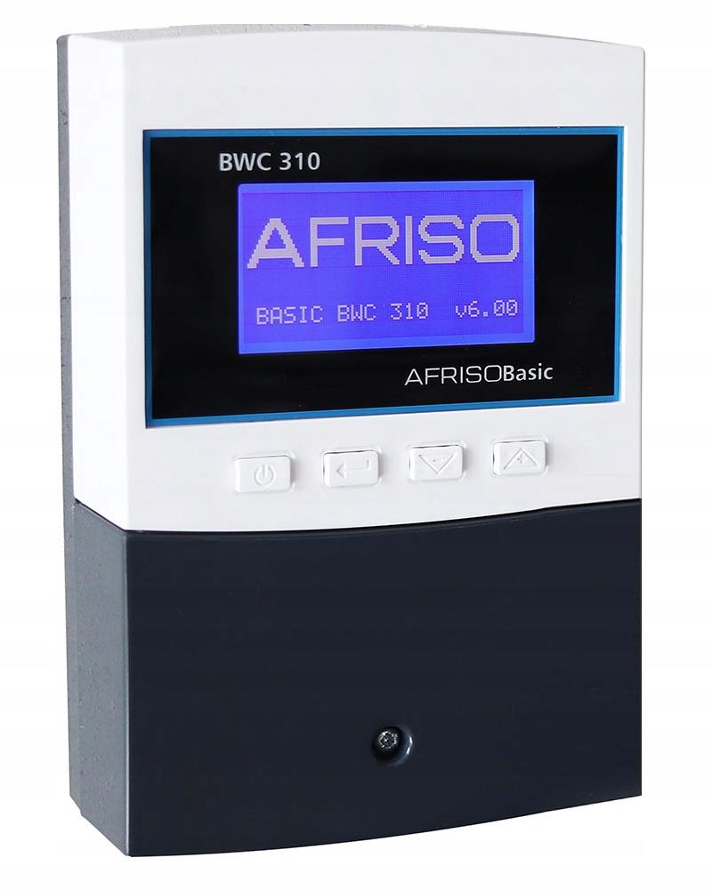 STEROWNIK REGULATOR POGODOWY LCD AFRISO BWC 310