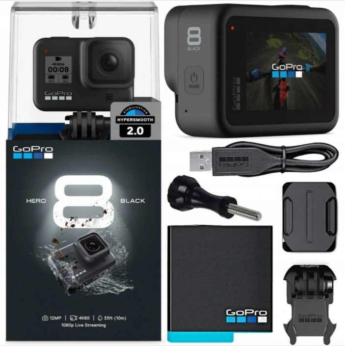 Kamera sportowa GoPro Hero 8 CHDHX-801RW Black Marka GoPro