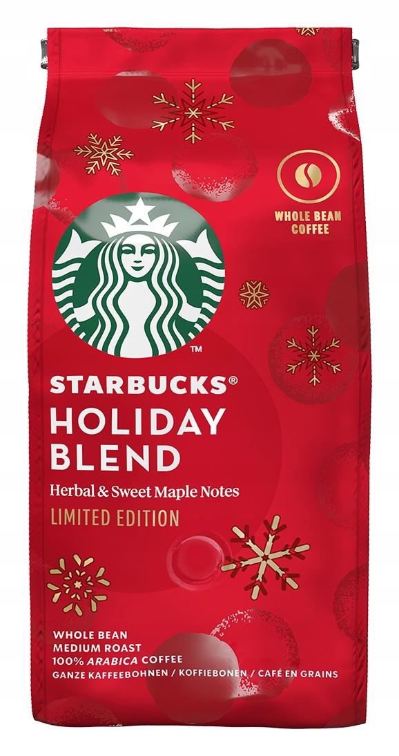 STARBUCKS HOLIDAY BLEND Кофе в зернах арабика 190
