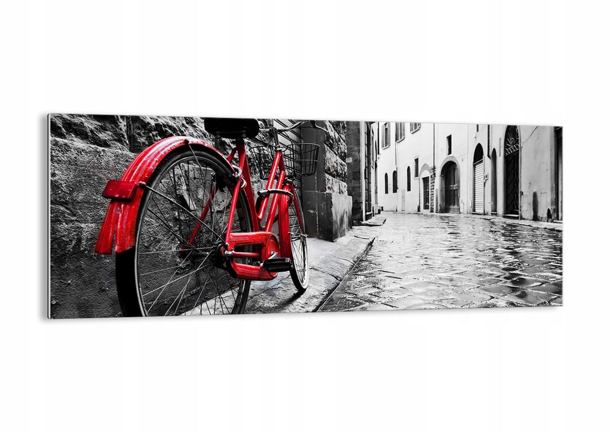 Obrázok na sklo Street Bike Retro GAB100x40-3186