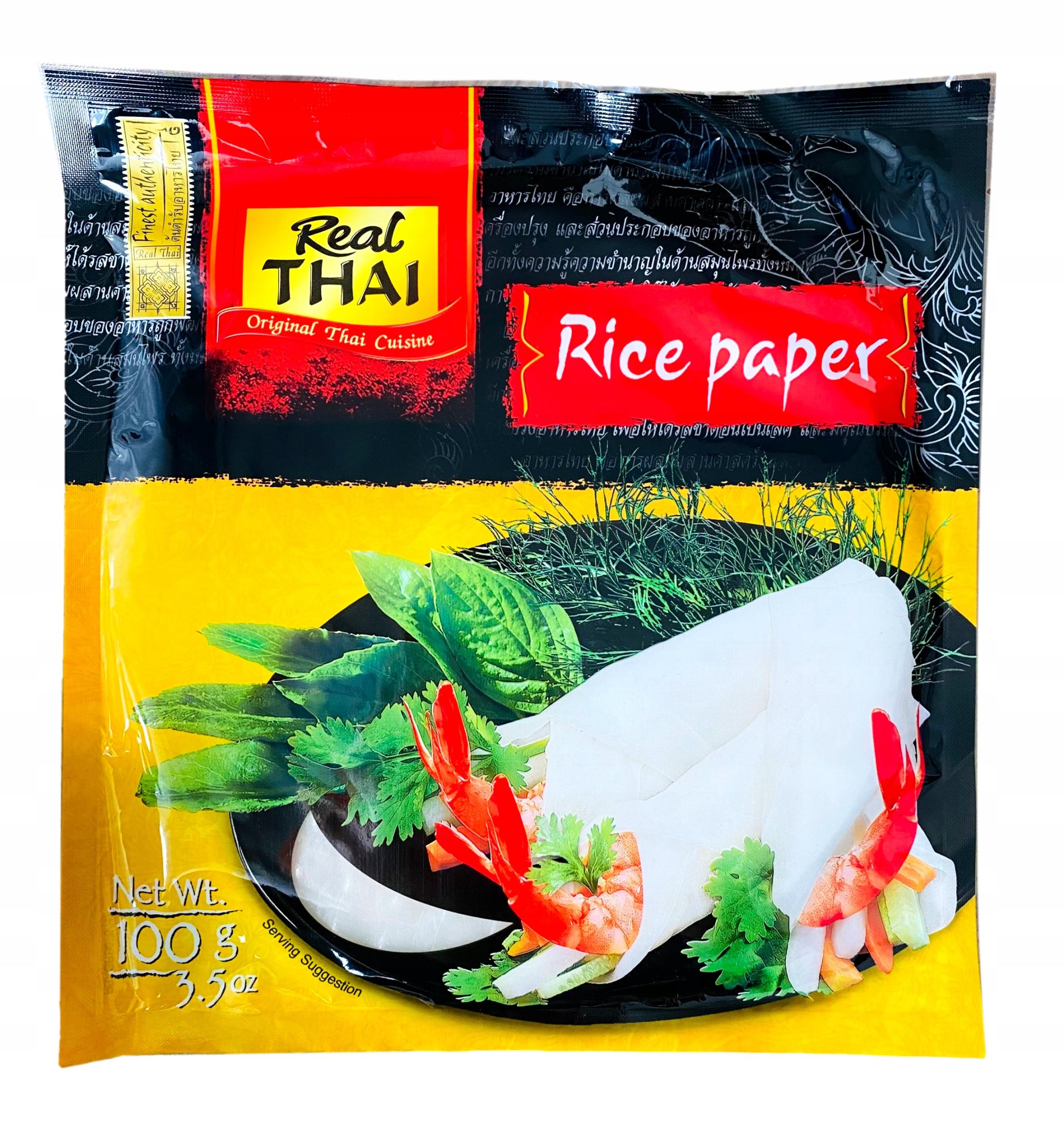 Рисовая бумага для блинчиков с начинкой 22см, круглая 100г