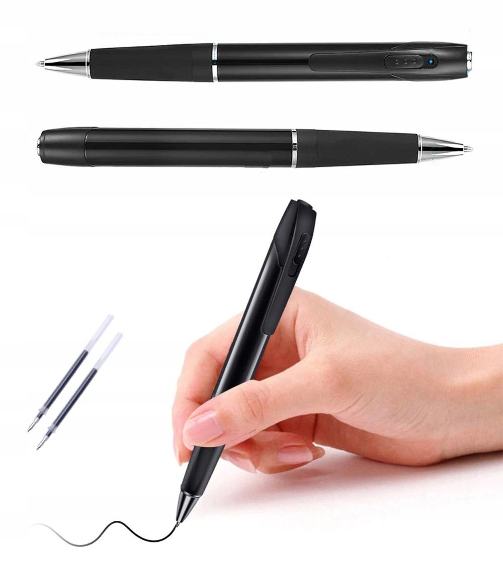 Długopis ukryta MINI KAMERA Full HD dyktafon FHD Kod producenta W8