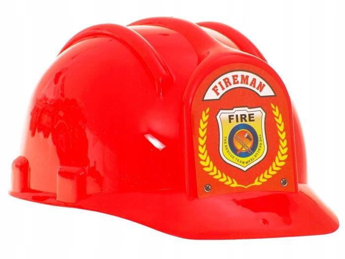 Duża Straż Pożarna Auto Kask quad strażacy ZA1158 Wiek dziecka 3 lata +