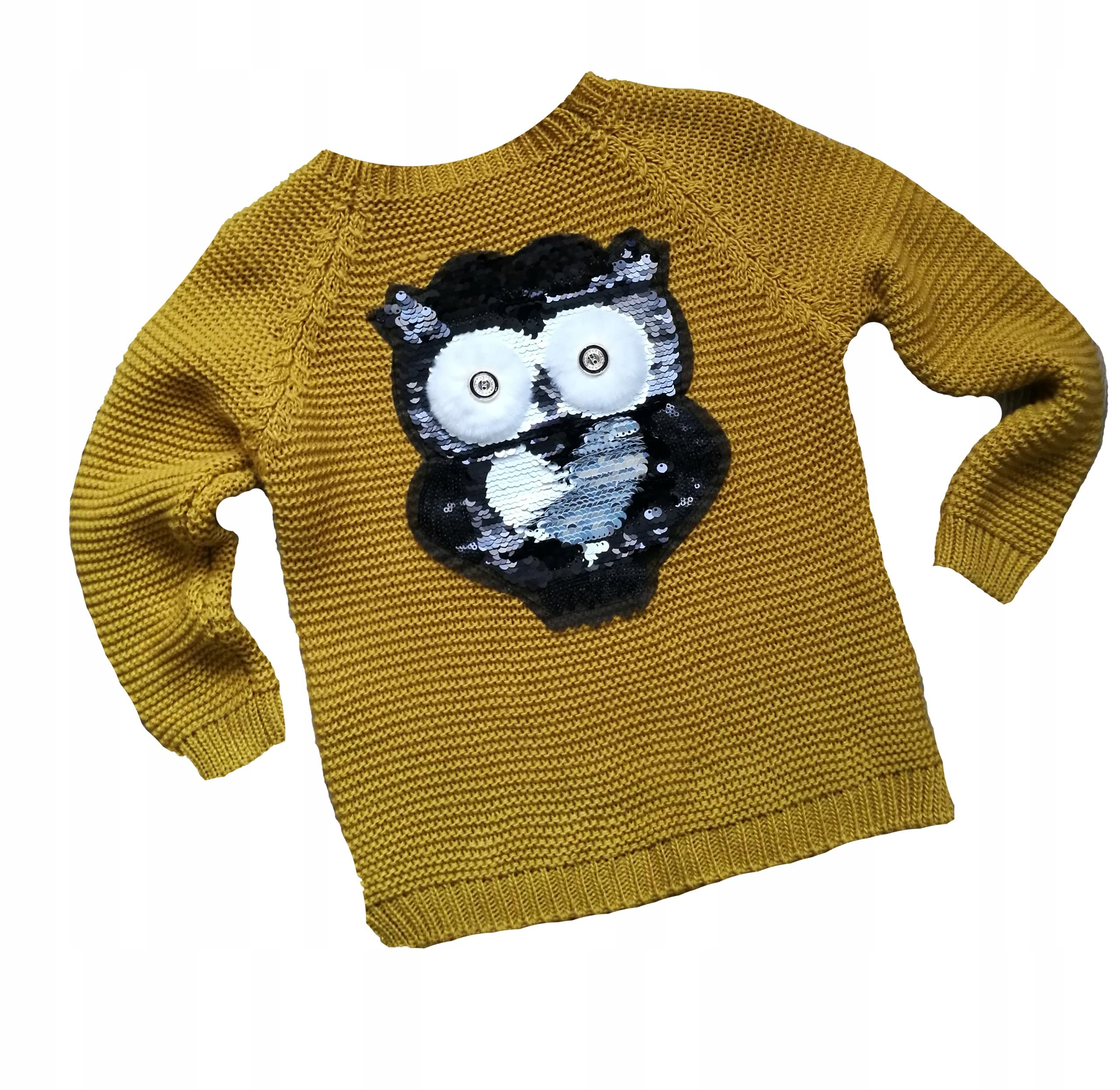 Sweter dziewczęcy 98/104