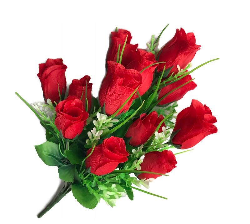 Kytica Rose Roses Krásna X12 Heads Umelé kvety! | KúpSiTo.sk - Tovar z  Poľska