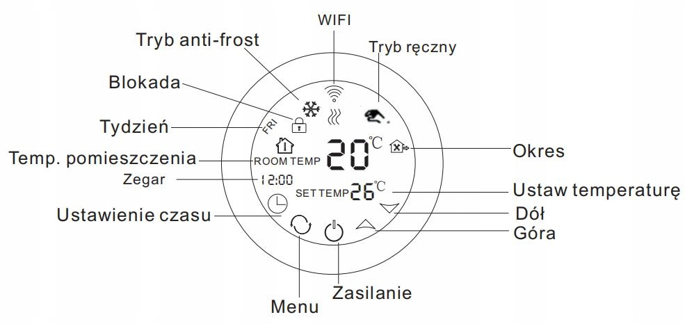 Комплект нагревательных ковриков Wi-Fi 10м2 200Вт / м2 Площадь обогрева 10м²