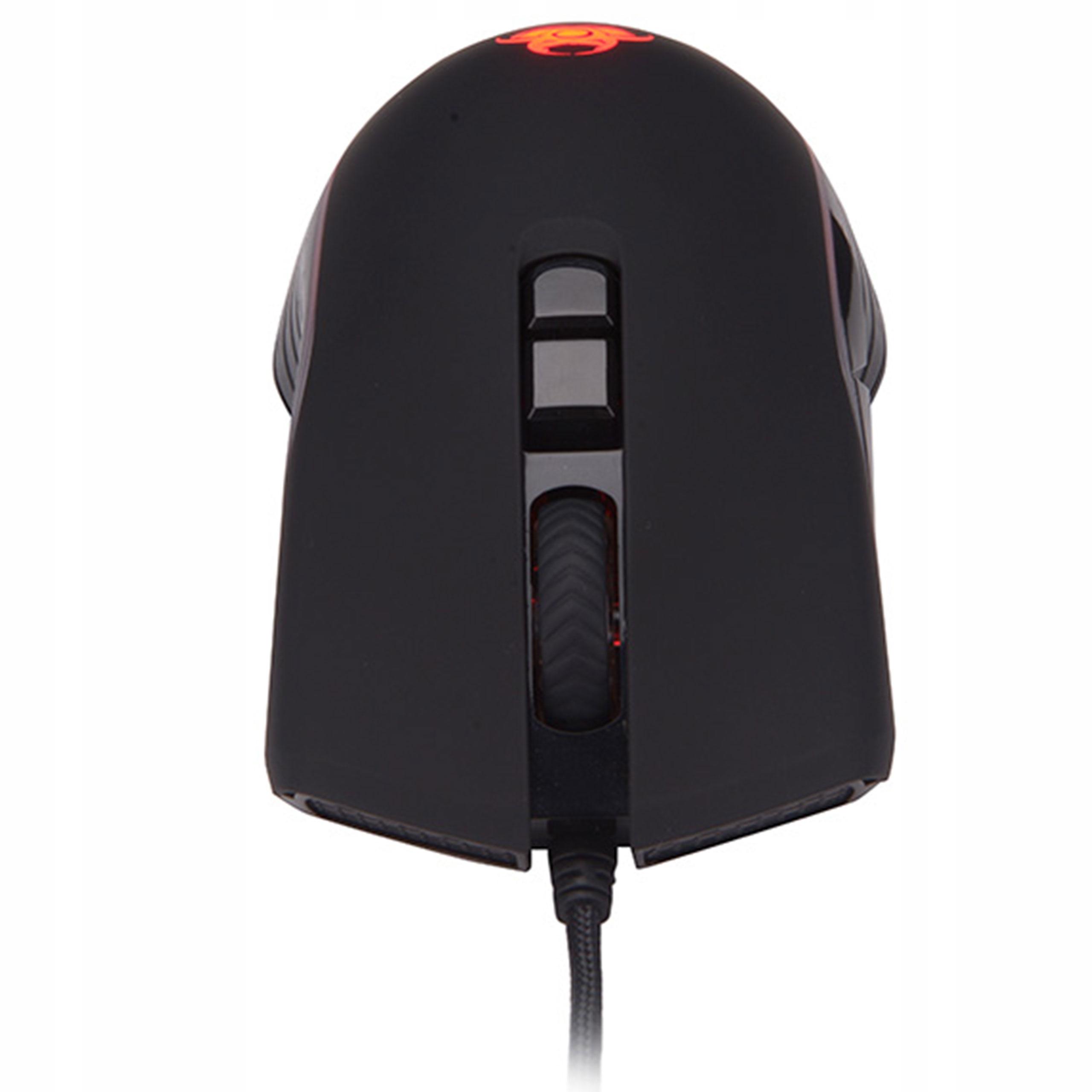 SPILLESPILLMUS RGB LED 1600 DPI SPILL Musoppløsning 2400 dpi