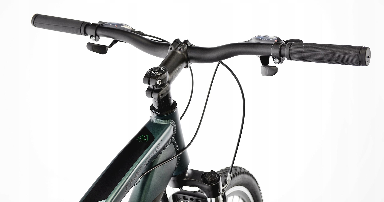 KANDS THE ONE rower mtb 29 VB altus 19 zieleń 2021 Korba trzyrzędowa