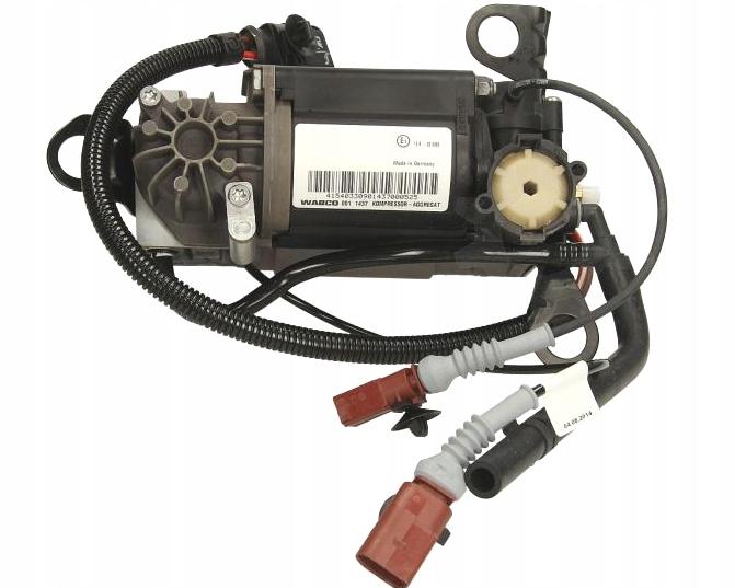 audi a8 d3 дизель компрессор подвески новый wabco